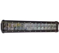 Фара светодиодная CH019B 90W 4D 30 диодов по 3W (выпуклая линза) (габаритные размеры 65*80*368мм; цветовая температура 6000K; сверх-дальний свет) CH019B 90W 4D
