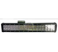 Фара светодиодная CH019B 108W 4D 36 диодов по 3W (выпуклая линза) (габаритные размеры 75*75*490мм; цветовая температура 6000K; сверх-дальний свет) CH019B 108W 4D