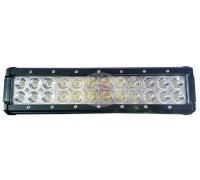 Фара светодиодная CH019B 72W Cree 24 диода по 3W (габаритные размеры 65*80*300мм; цветовая температура 6000K; свет комбинированный) CH019B 72W Cree