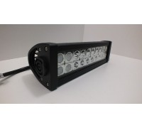Фара светодиодная CH008 60W 20 диодов по 3W (габаритные размеры 83*82*115*365мм; цветовая температура 6000K; свет дальний + ближний) 3 контакта, боковое крепление, потребляемый ток 12/24V CH008 60W Cree 3k