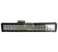 Фара светодиодная CH019B 108W 36 диодов по 3W (габаритные размеры 75*75*45*490мм; цветовая температура 6000K; свет дальний + ближний) 3 контакта CH019B 108W Cree 3k