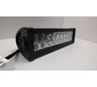 Фара светодиодная CH008 60W 20 диодов по 3W (габаритные размеры 83*82*115*365мм; цветовая температура 6000K; свет комбинированный дальний - белый/ближний -желтый) 3 контакта, боковое крепление, потребляемый ток 12/24V CH008 60W WTH-Y