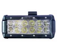 Фара светодиодная CH019В 18W 6 диодов по 3W (габаритные размеры 65*80*96мм; цветовая температура 6000K; дальний свет) CH019B 18W Cree оптовая продажа