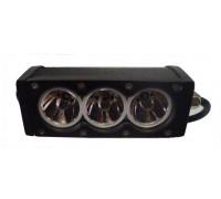 Фара светодиодная CH052 30W 3 диода по 10W (габаритные размеры 76*58*103*155мм; цветовая температура 6000K; свет комбинированный янтарный) CH052 30W WTH
