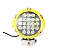 Фара светодиодная CH030Y 63W 21 диод по 3W (габаритные размеры 83*82*115*875мм; цветовая температура 6000K; дальний свет) Желтая CH030Y 63W