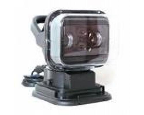 Фароискатель CH001 50W LED линза с дистанционным управлением Черный