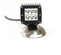 Фара светодиодная CH041 18W 6 диодов по 3W (габаритные размеры 75*82*80мм; цветовая температура 6000K; дальний свет) CH041 18W
