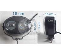 Фара светодиодная CH049 6W 2 диода по 3W (габаритные размеры 160*120*150мм; цветовая температура 6000K; дальний свет) CH049 6W