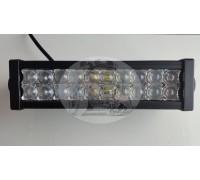Фара светодиодная CH008 72W 5D 24 диода по 3W (габаритные размеры 83*82*115*415мм; цветовая температура 6000K; дальний свет) 2 контакта, боковое крепление, потребляемый ток 12/24V CH008 72W 5D