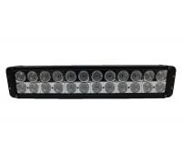 Фара светодиодная CH054 240W 24 по 10W (габаритные размеры 91*95*520мм; цветовая температура 6000K; свет комбинированный) CH054 240W