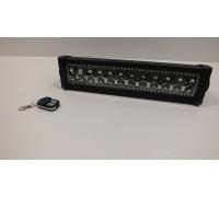 Фара светодиоднаяCH008 72W RGB 24 диода, доп. диоды с пультом управления по 3W
