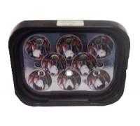 Фара светодиодная CH050 40W 8 диодов по 5W (габаритные размеры 90*70*125мм; цветовая температура 6000K; дальний свет) CH050 40W