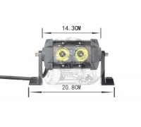 Фара светодиодная CH029B 20W 2 диода по 10W