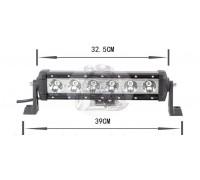 Фара светодиодная CH029B 60W 6 диодов по 10W (габаритные размеры 110*90*75*390мм; цветовая температура 6000K; дальний свет) нижнее крепление CH029 60W