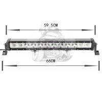 Фара светодиодная CH029B 120W 12 диодов по 10W (габаритные размеры 110*90*75*660мм; цветовая температура 6000K; дальний свет) нижнее крепление CH029 120W