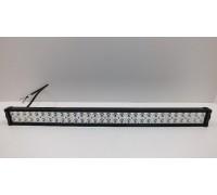Фара светодиодная CH008 180W MINI 60 диодов по 3W (габаритные размеры 83*82*115*875мм; цветовая температура 6000K; дальний свет) 2 контакта, боковое крепление, потребляемый ток 12/24V CH008 180W MINI оптовая продажа