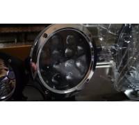 Фара светодиодная CH021 60W 12 диодов по 5W (габаритные размеры 180*218*90мм; цветовая температура 6000K; дальний свет) хром CH021 60W chrom