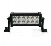 Фара светодиодная CH008 36W MINI 12 диодов по 3W (габаритные размеры 83*82*115*260мм; цветовая температура 6000K; дальний свет) 2 контакта, боковое крепление, потребляемый ток 12/24V CH008 36W MINI оптовая продажа
