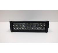 Фара светодиодная CH008 60W COMBO 20 диодов по 3W (габаритные размеры 83*82*115*365мм; цветовая температура 6000K; комбинированный свет) 2 контакта, боковое крепление, потребляемый ток 12/24V CH008 60W COMBO