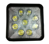 Фара светодиодная CH006 27W 9 диодов по 3W