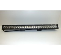 Фара светодиодная CH018 120W 24 диода по 5W (габаритные размеры 75*75*45*633мм; цветовая температура 6000K; дальний свет) 2 контакта, нижнее крепление, потребляемый ток 12/24V CH018 120W